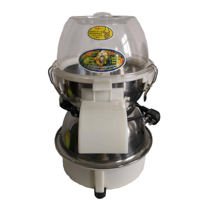 田守信切菜机使用方法及操作流程